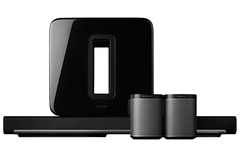 Wireless Home Theater Surround Sound Packages Sonos