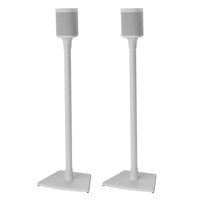 pair of sanus floor stands for play 1 play 3 one sonos. Black Bedroom Furniture Sets. Home Design Ideas