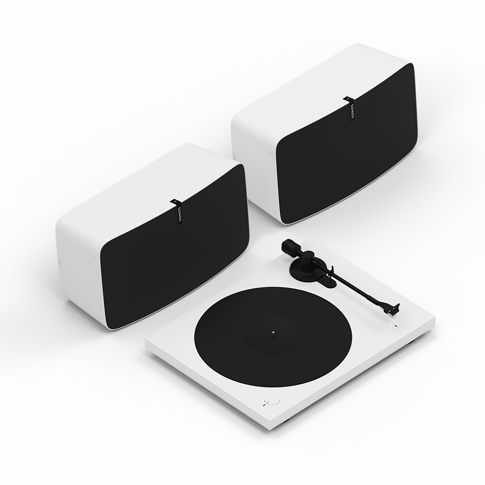 INOpets.com Anything for Pets Parents & Their Pets Sonos Vinyl Pro Set - White