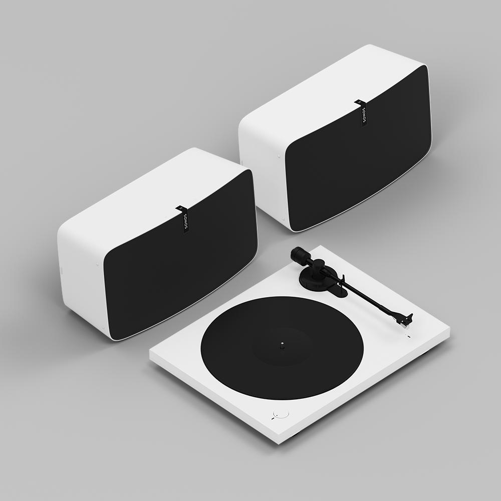 Sonos Vinyl Pro Set - White