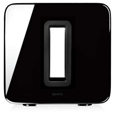 Sonos Sub black front view