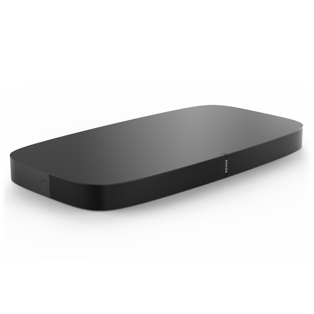 PLAYBASE Wireless Soundbase for TVs - Black