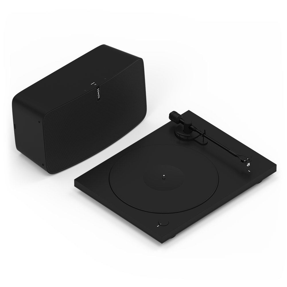 Sonos Vinyl Set - Play:5 + Pro-Ject Turntable - Black