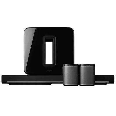 home theater sound system. 5.1 surround sound package with playbar and play:1 home theater system s