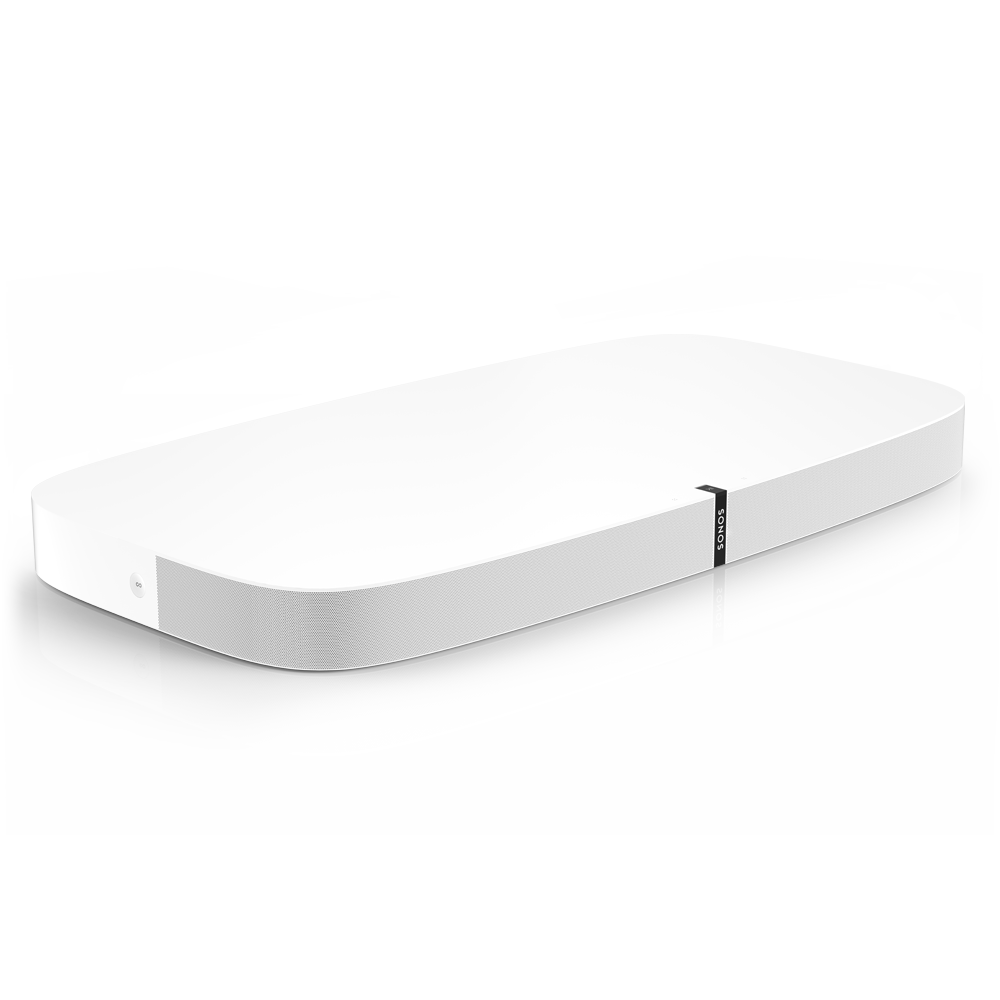 PLAYBASE Wireless Soundbase for TVs - White