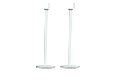 Pair of Flexson Floor Stands for PLAY:1 white