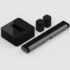 Kit audio surround 5.1 con Playbar