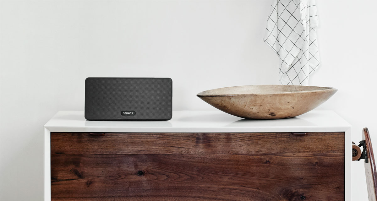 Play 3 Mid Size Home Speaker With Stereo Sound Sonos